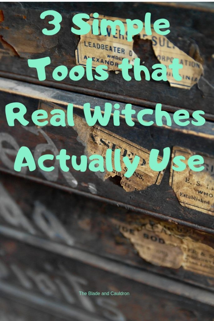 3 Simple Tools that Real Witches Use #witchcraft #Wicca #pagan