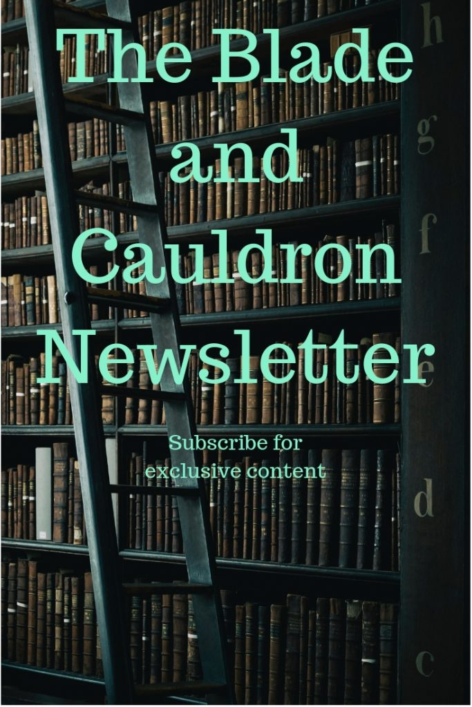 The Blade and Cauldron Newsletter